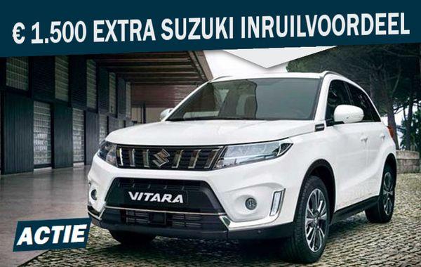 Mengelers Suzuki € 1.500 Extra Inruilvoordeel