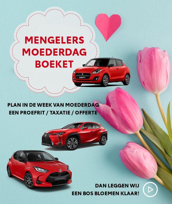 Mengelers Groep Moederdagactie Bloemenboeket Mobile