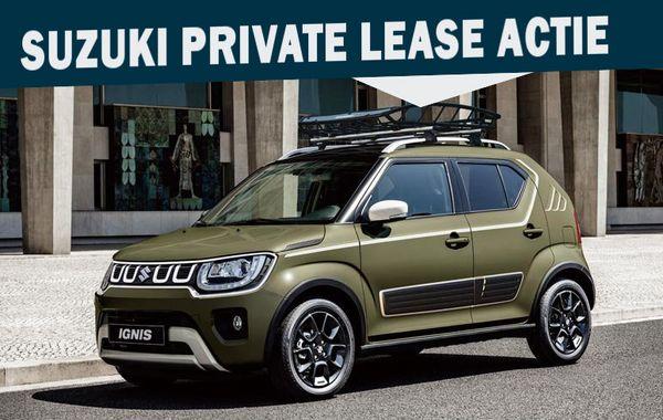 Mengelers Suzuki Private Leaseactie Ignis