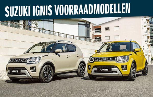 Suzuki Ignis Voorraadmodellen
