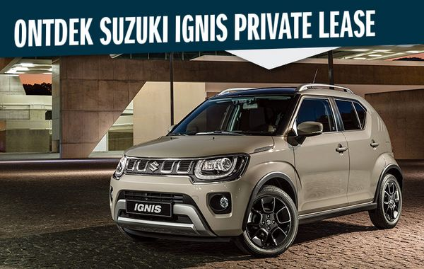 Private Lease Suzuki Ignis