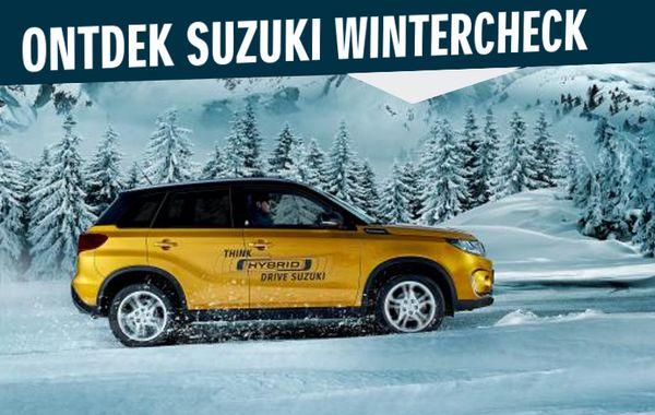 Plan nu uw Mengelers Suzuki Wintercheck in voor maar € 14,95