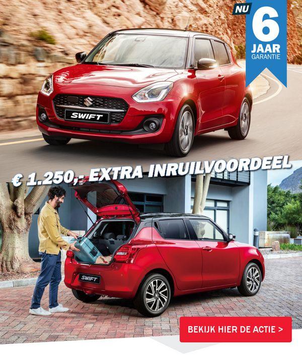 Mengelers Suzuki Swift Inruilvoordeel - € 1500 extra