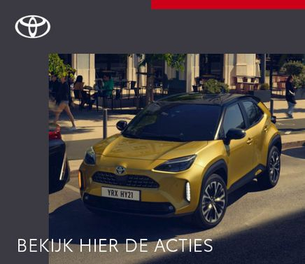 Mengelers Automotive Limburg - Toyota Yaris Cross Acties