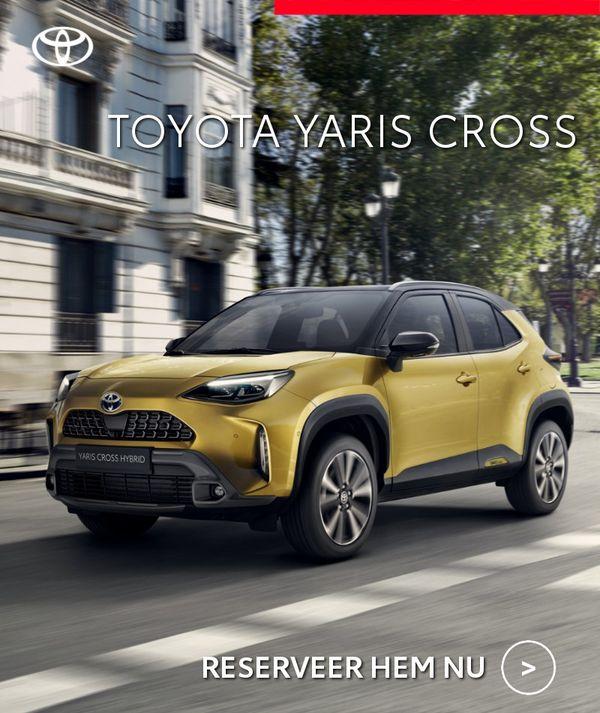 Mengelers Automotive Limburg - Toyota Yaris Cross RESERVEER HEM NU
