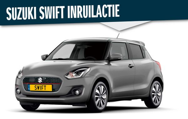 Suzuki Swift inruilactie
