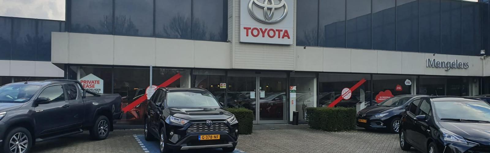 Mengelers Toyota Maastricht front