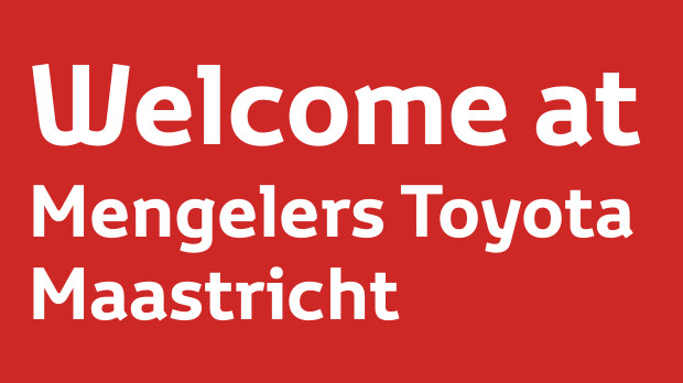 Welcome at Mengelers Toyota Maastricht