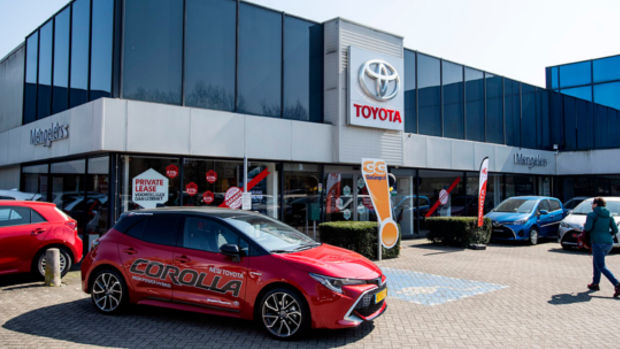 Pand Toyota Maastricht