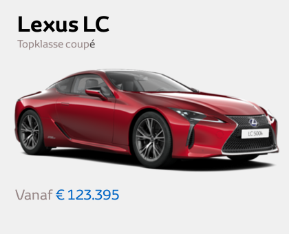 Mengelers Lexus - Lexus LC