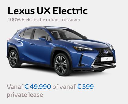 Mengelers Lexus - UX Electric