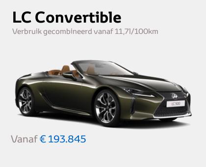 Nieuwe Mengelers Lexus Sittard LC Convertible