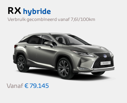 Nieuwe Mengelers Lexus Sittard RX