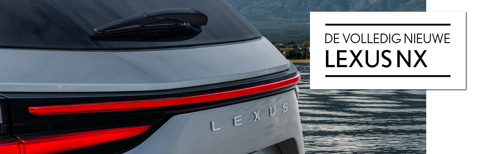 Lexus Sittard modellen - de nieuwe Lexus NX 2021