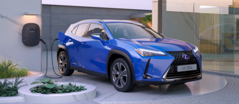 Lexus Pop-Up Store - UX 300 Electric