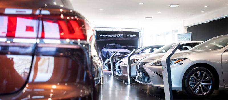 Lexus Pop-Up Store - Jong gebruikte Lexus Occasions