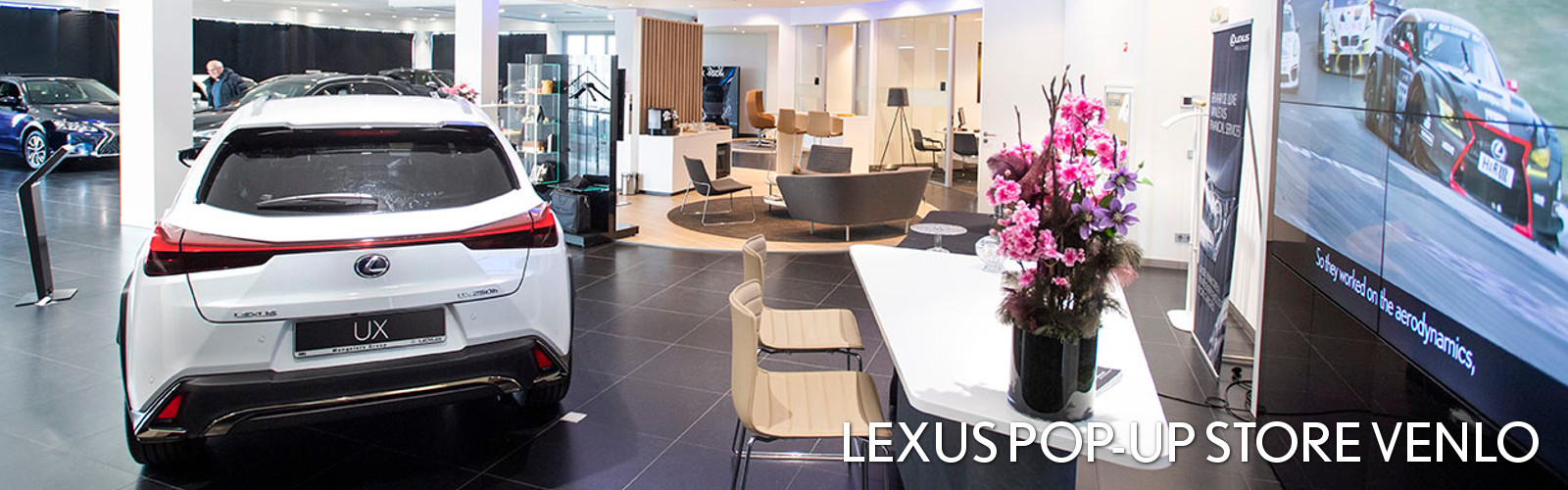 Lexus Pop-Up Store Venlo - Banner