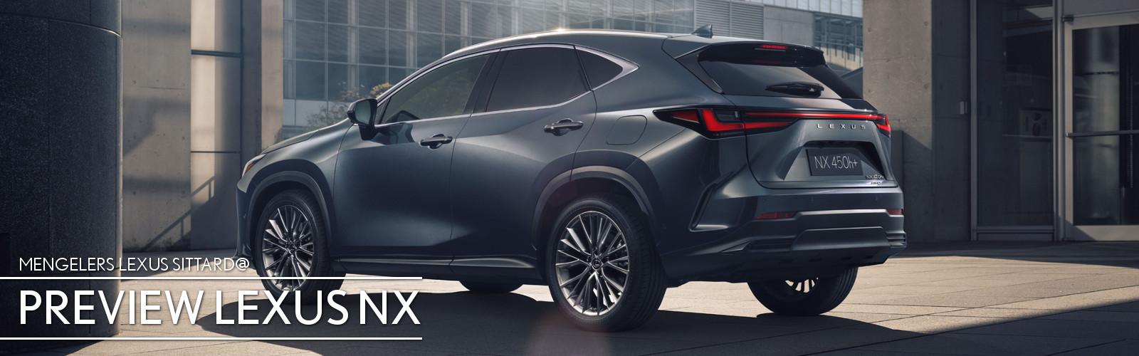 Lexus Sitttard NX preview 22 augustus