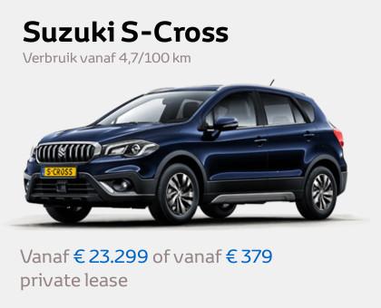 Mengelers Suzuki - S-Cross