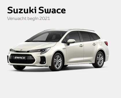 De nieuwe Suzuki Swace