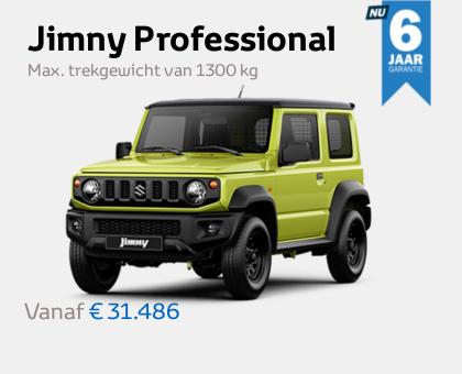 Nieuwe Mengelers Suzuki Jimny maart 2021
