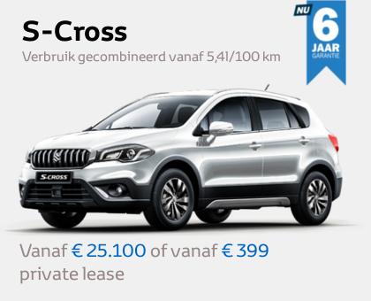 Nieuwe Mengelers Suzuki S-cross maart 2021