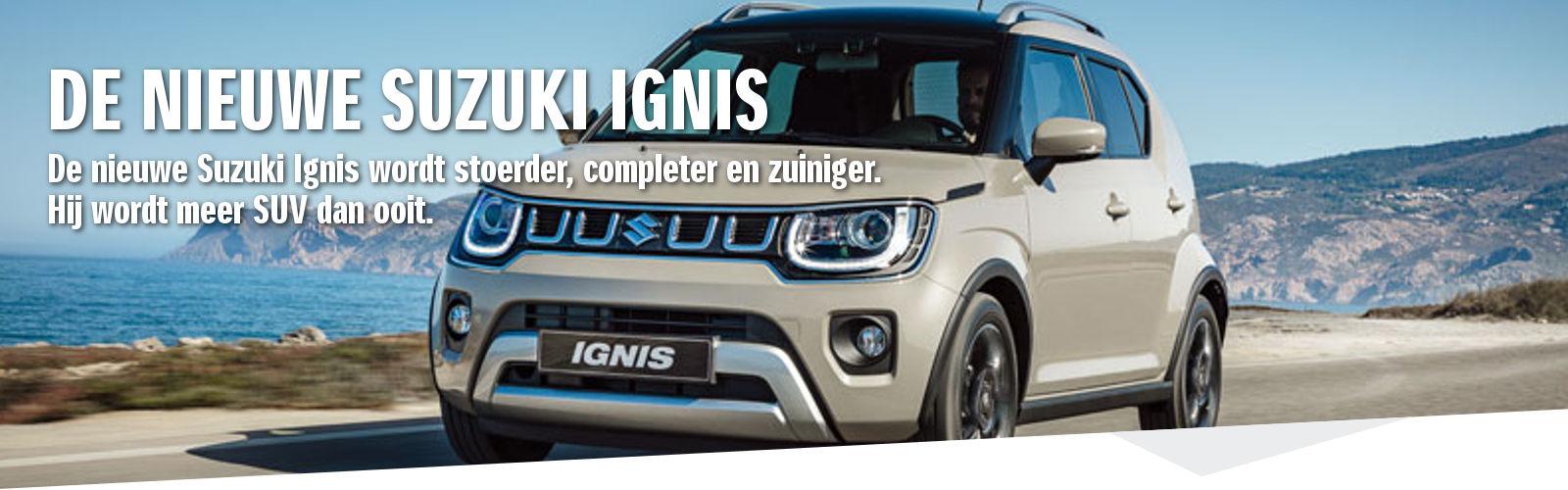 Mengelers Suzuki - Nieuwe Suzuki Ignis