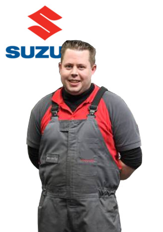 Dave van Erp - Technisch Specialist Mengelers Suzuki