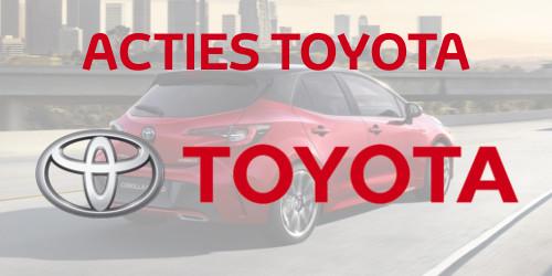 Toyota acties