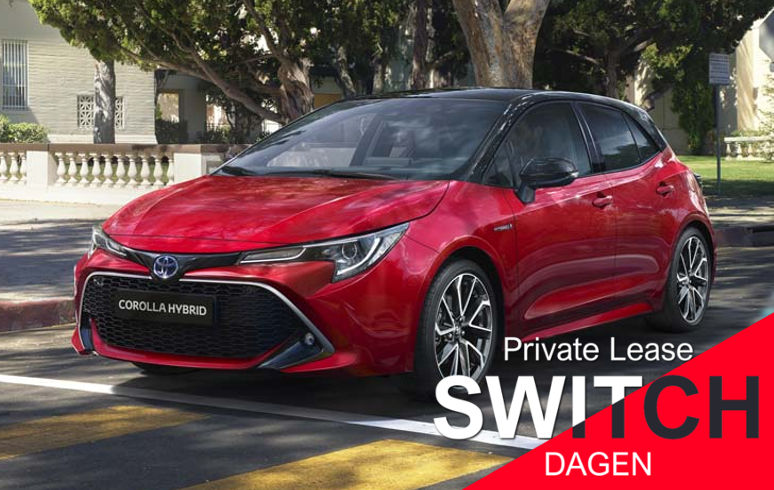 Toyota Corolla Private FlexLease Dagen