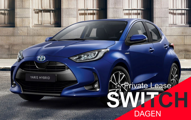 Toyota Yaris Private FlexLease Dagen