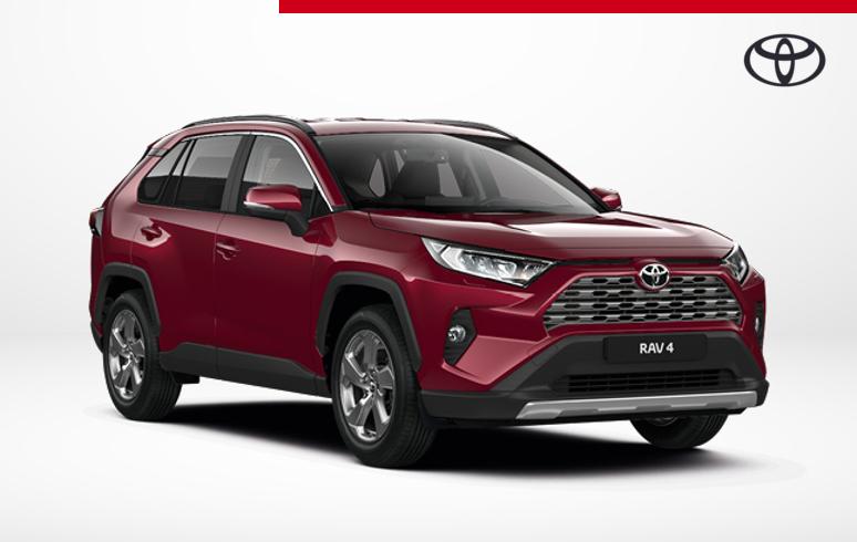 Mengelers Toyota RAV4 Style voordeel