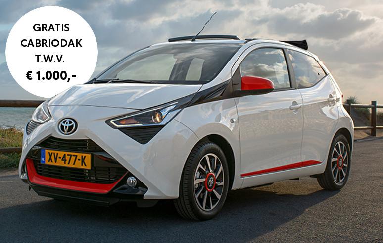 Mengelers Automotive Acties - Gratis Cabriodak op Toyota AYGO