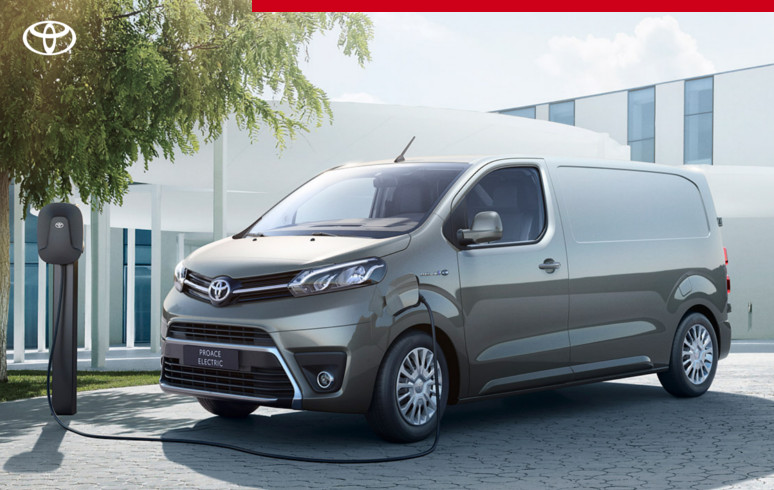 Mengelers Automotive actie - Toyota PROACE Electric Limited Edition