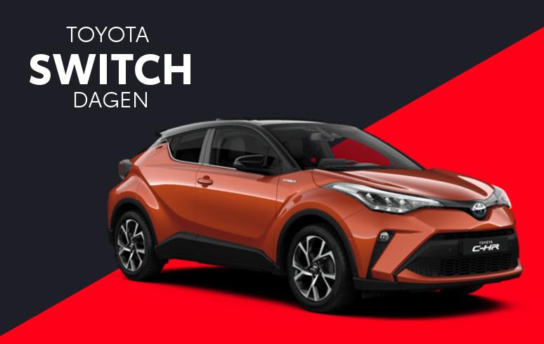 Mengelers Toyota Switch - Toyota CHR inruilvoordeel