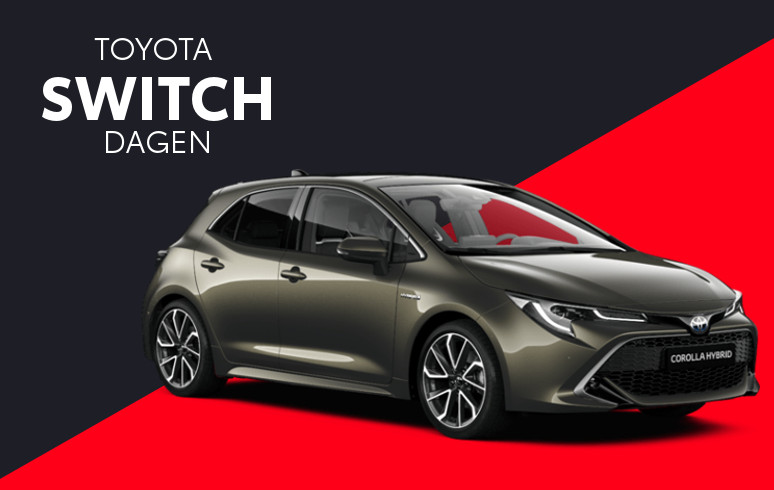 Mengelers Toyota Switch - Toyota Corolla Hatchback inruilvoordeel