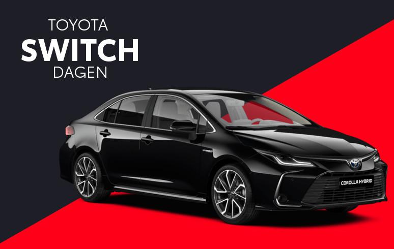 Mengelers Toyota Switch - Toyota Corolla Sedan inruilvoordeel