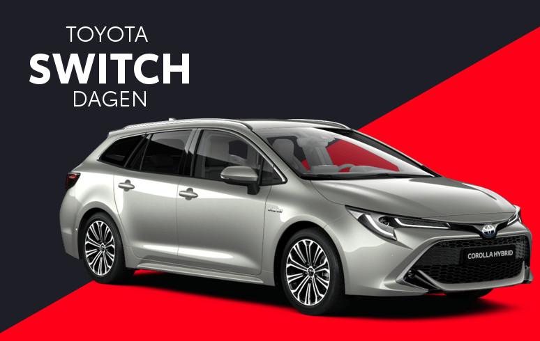 Mengelers Toyota Switch - Toyota Corolla Touring Sports inruilvoordeel