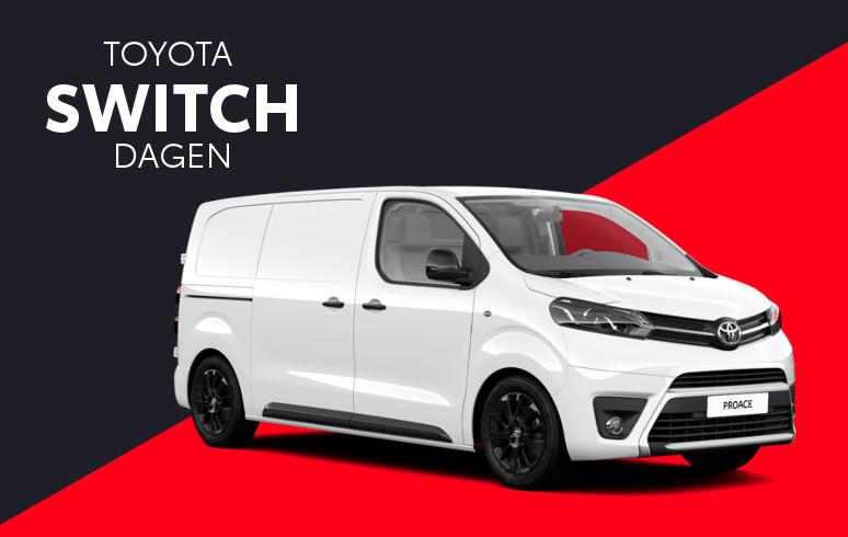 Mengelers Toyota Switch - Toyota PROACE inruilvoordeel