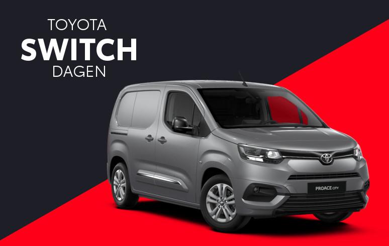 Mengelers Toyota Switch - Toyota PROACE City inruilvoordeel