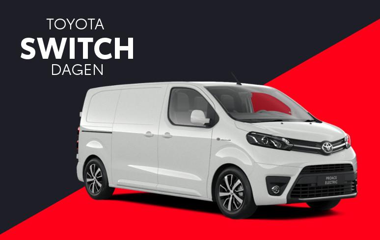 Mengelers Toyota Switch - Toyota PROACE Electric inruilvoordeel
