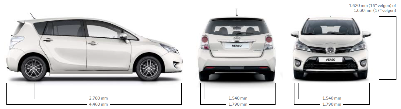 Toyota Verso. De ideale gezinsauto met een ruim en ...