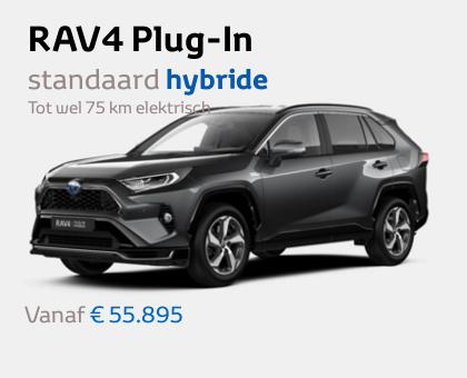 Nieuwe Mengelers Toyota RAV4 Plug-In Februari 2021