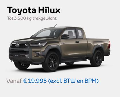Nieuwe Mengelers Toyota Hilux