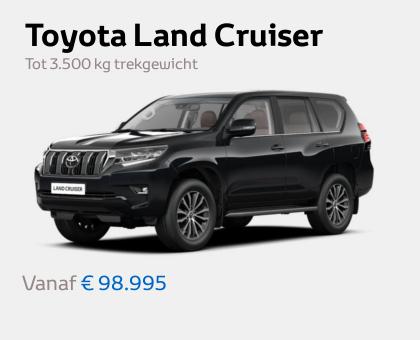 Nieuwe Mengelers Toyota Land Cruiser