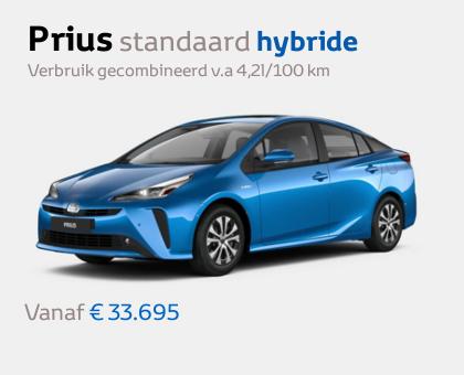 Nieuwe Mengelers Toyota Prius