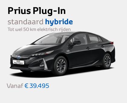 Nieuwe Mengelers Toyota Prius Plug-In