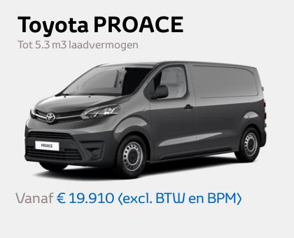 Nieuwe Mengelers Toyota PROACE