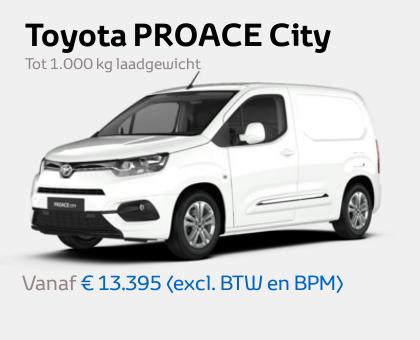 Nieuwe Mengelers Toyota PROACE City