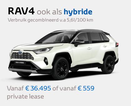 Nieuwe Mengelers Toyota RAV4